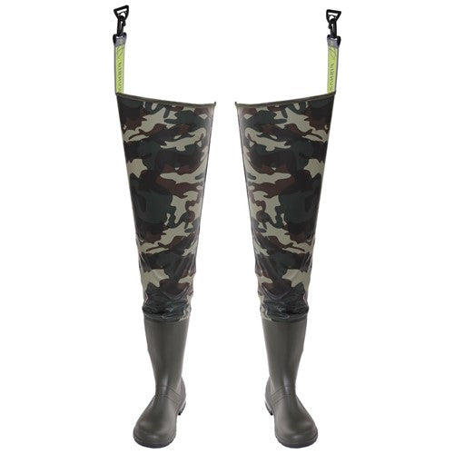Cuissardes PVC camouflage