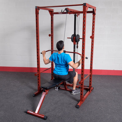 Lat Attachment for BFPR100R Best Fitness Power Rack (rack not included)