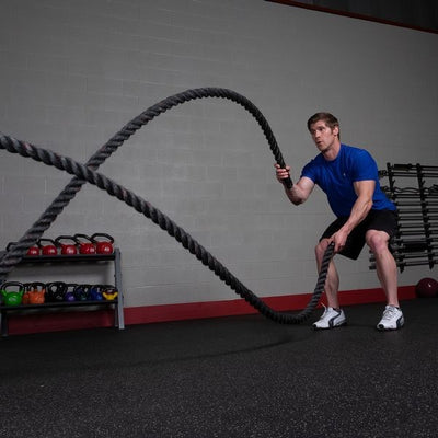 Body-Solid Tools Battle Ropes
