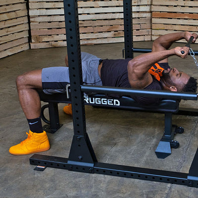 Rugged Series Flat Bench