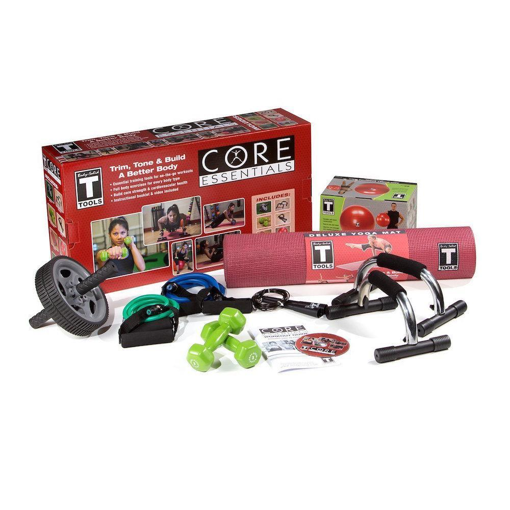 Body-Solid Tools Core Essentials Package Home Gym.