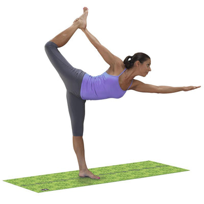 Body-Solid Tools Premium Yoga Mat 6mm Green-Best Fitness Equipment
