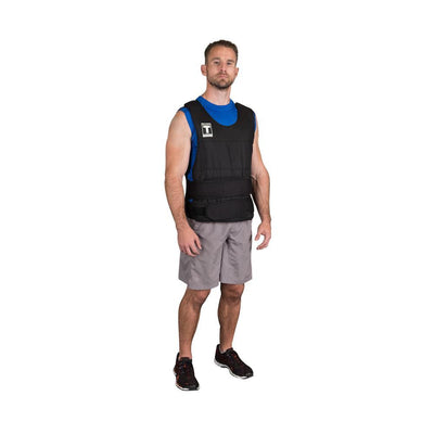 Body-Solid Tools Weighted Vest | Strength and Conditioning Vest-Best Fitness Equipment