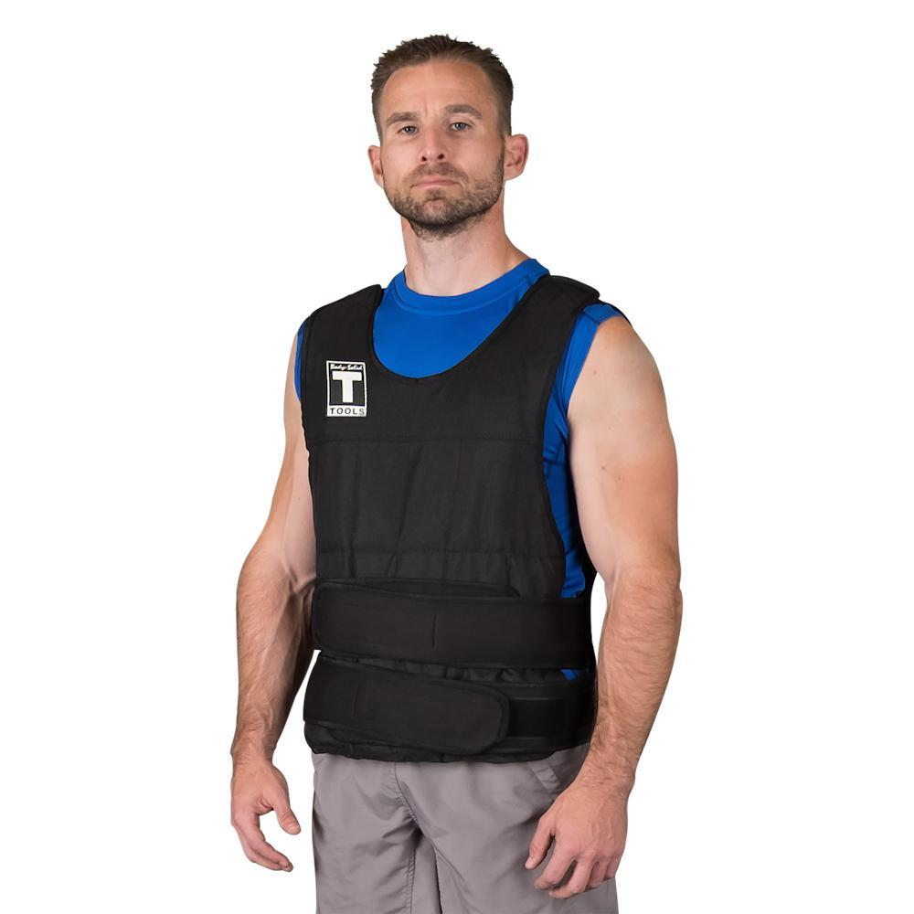 Body-Solid Tools Weighted Vest | Strength and Conditioning Vest.