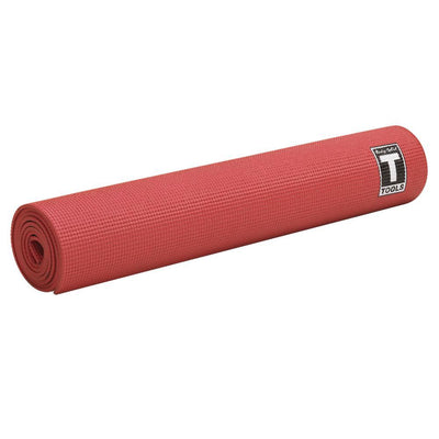 Body-Solid Tools Yoga Mat 5mm Red-Best Fitness Equipment