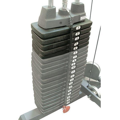 Optional 50 Lbs (22.68 Kg) Weight Stack Upgrade for Powerline P1X / P2X Multistations-Best Fitness Equipment