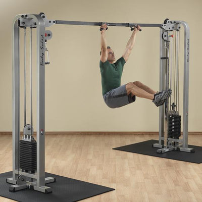Optional Lat Pull-Up / Chin-Up Station for Powerline Cable Crossover-Best Fitness Equipment
