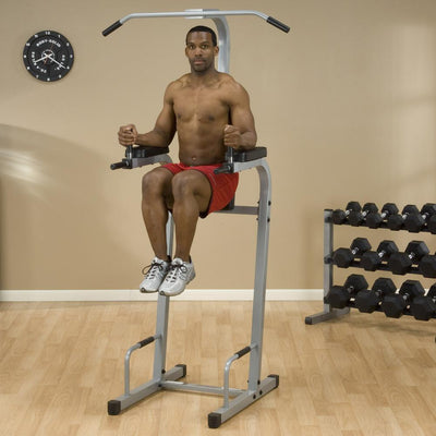 Powerline Vertical Knee Raise Chin Dip Machine-Best Fitness Equipment