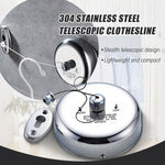 Stainless Steel Telescopic Clothesline