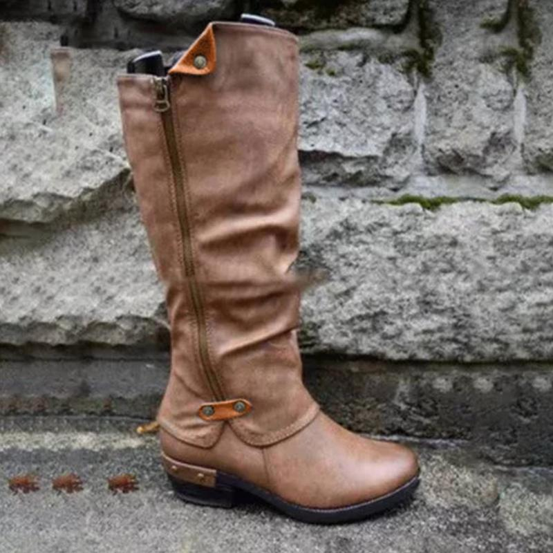 Christmas Sale-70% OFF Only Today!⏳Womens Western Cowboy Knee Boots Punk Boots