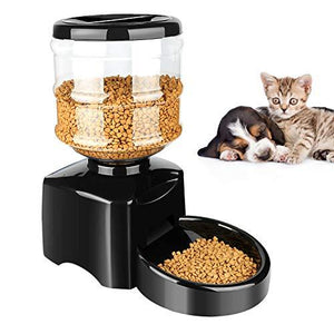 (50% OFF Today) 5.5L Automatic Pet Feeder Dogs Cats Food Dispenser