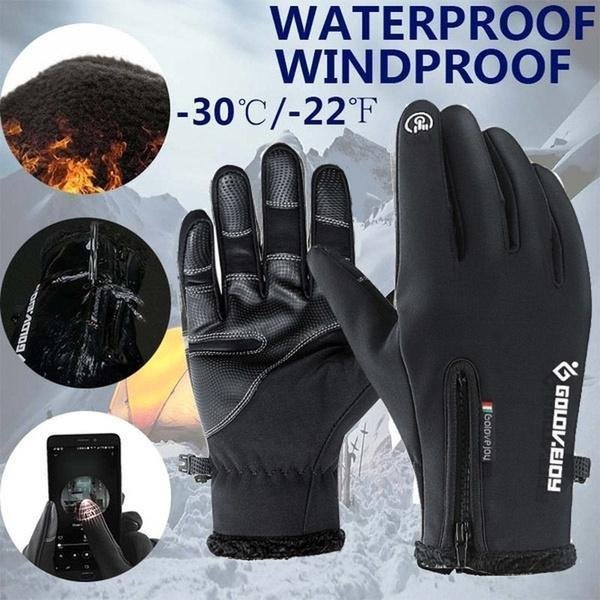 【Last Day promotion-50% OFF】Winter Warm Waterproof Touch Screen Gloves