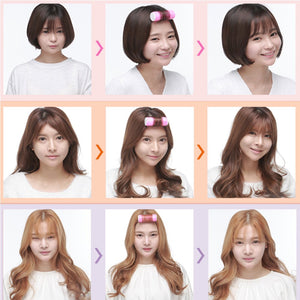 DIY Hair Curler Perm Rod Air bangs roll
