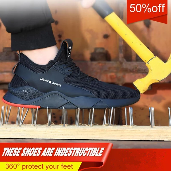 Autumn and winter Breathable Soft And Lightweight Safety Shoes(50% off)