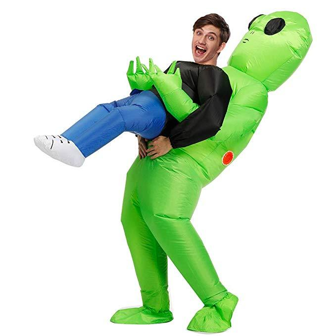 Halloween Costumes|Inflatable Funny Halloween Alien Costumes|Halloween Scary Costumes For Women,Adult,Kids