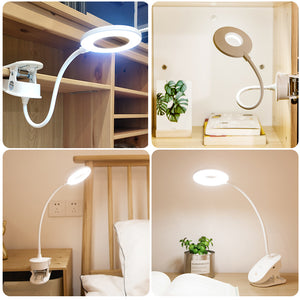 LED Touch On/off Switch 3 Modes Clip Desk Lamp