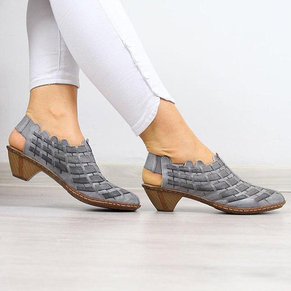 Women Casual Comfy Elastic Band Plus Size Shoes(70% off-Last day promotion)
