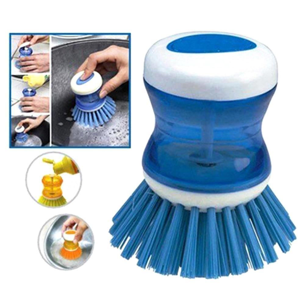 Soap Dispensing Cleaning Brush