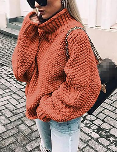🔥2019 HOT🔥Women's Solid Colored Long Sleeve Loose Pullover(70% OFF-Last day promotion)
