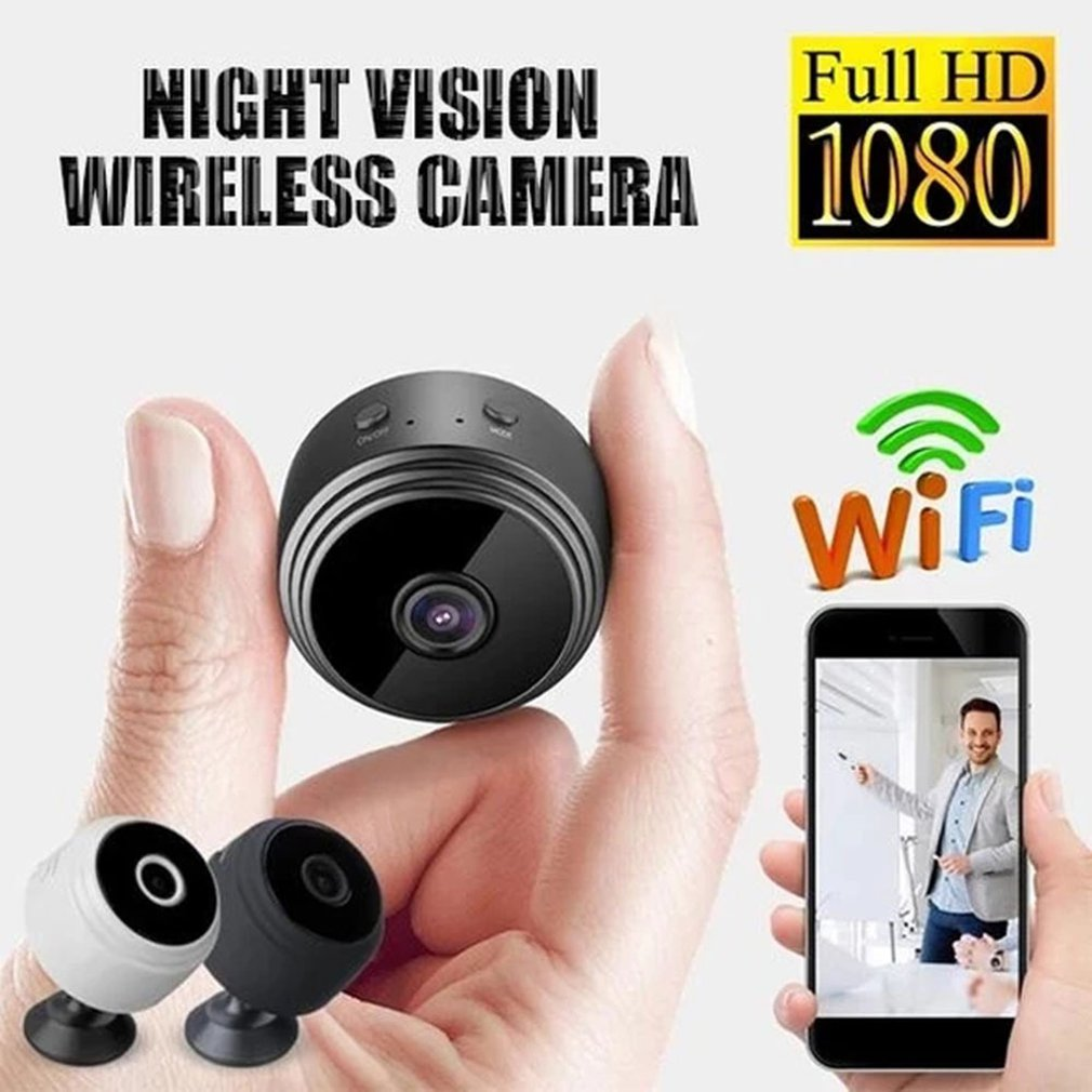 🔥2019 HOT🔥A9 WiFi 1080P Full HD Night Vision Wireless IP Camera