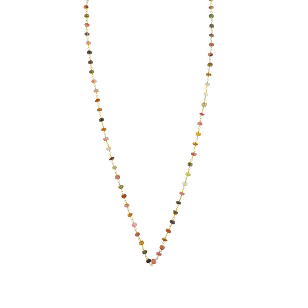 MULTICOLOR TOURMALINE NECKLACE