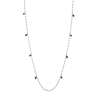 SPINELLO AND ONYX NECKLACE | GENNY.PI® NECKLACES - JEWELERY GENNY.PI® MILAN