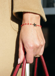 CRYSTAL BRACELET WITH STAR