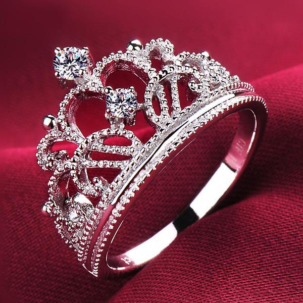 Bague Crown