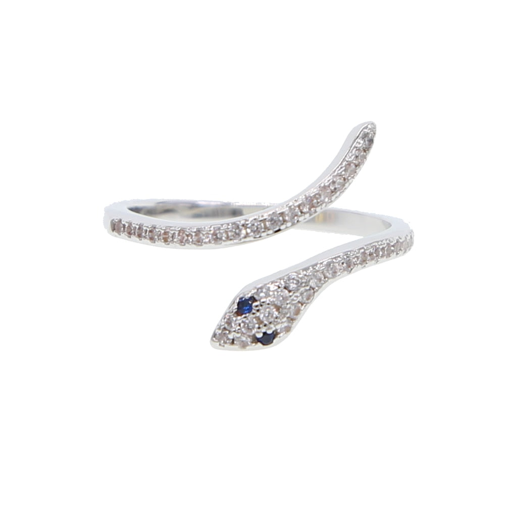 Bague Serpent Diamant