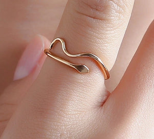 Bague Serpent Minimaliste