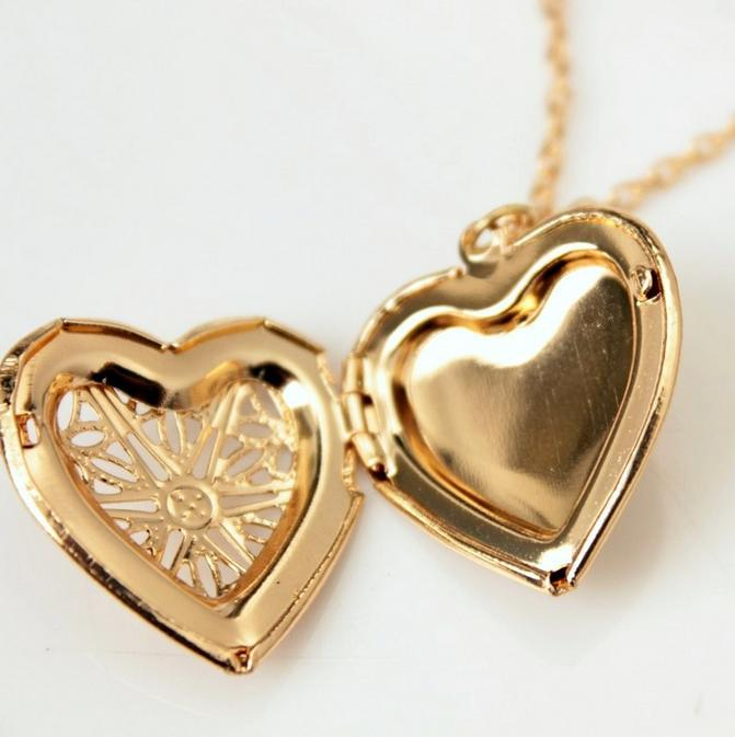 pendentif coeur ouvrable