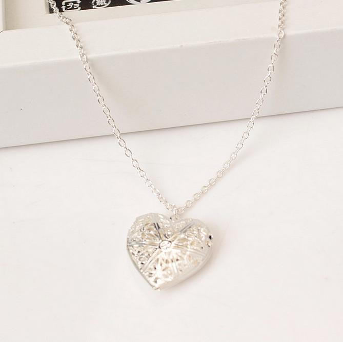Collier Coeur Ouvrable