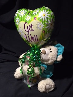 Get Well Soon Plush & Candy
