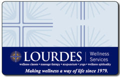 Lourdes Wellness Gift Card