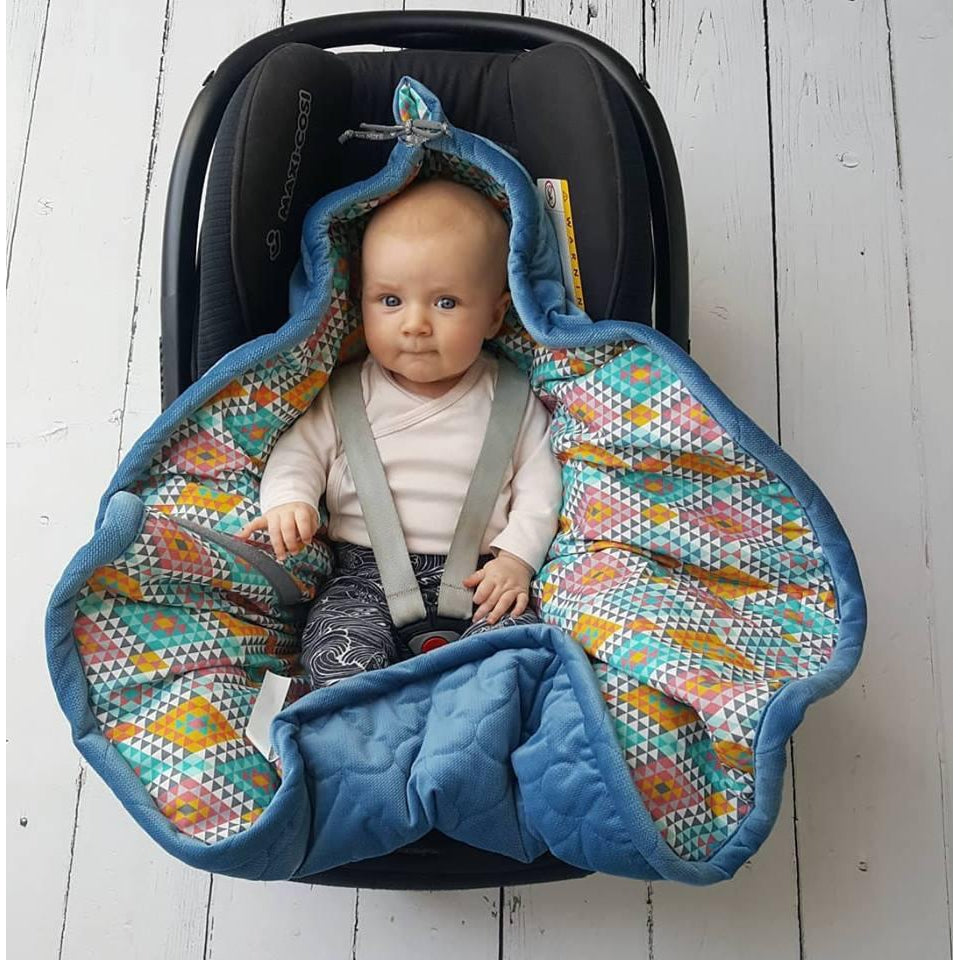 Car Seat Blanket-Eko Kids