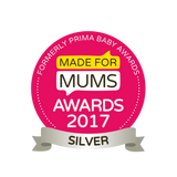 made for mums award 2017 silver