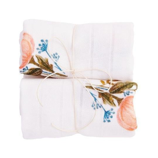 100% Bamboo Muslin Cloths 2-pack - Bim.Bla - Eko Kids