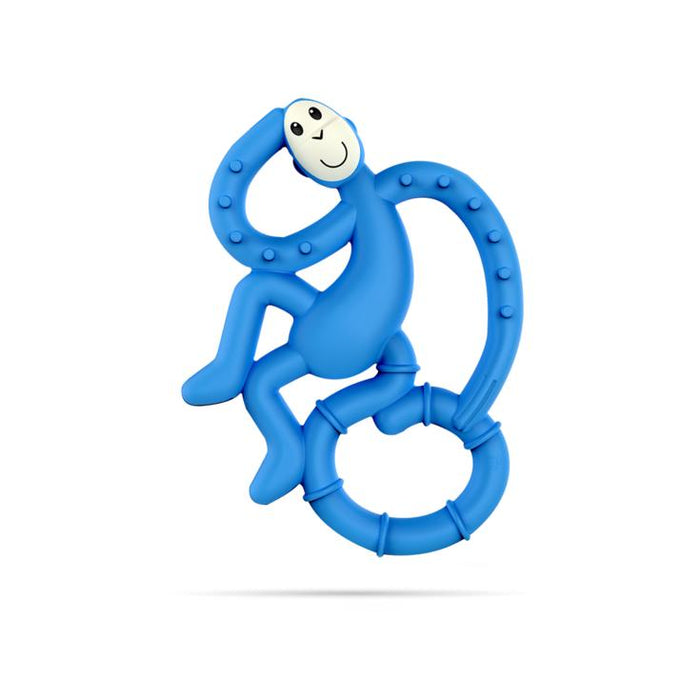 Mini Monkey Teether-Teether-Matchstick Monkey-Blue-Eko Kids