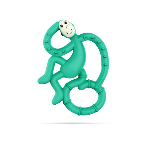 Mini Monkey Teether-Teether-Matchstick Monkey-Green-Eko Kids