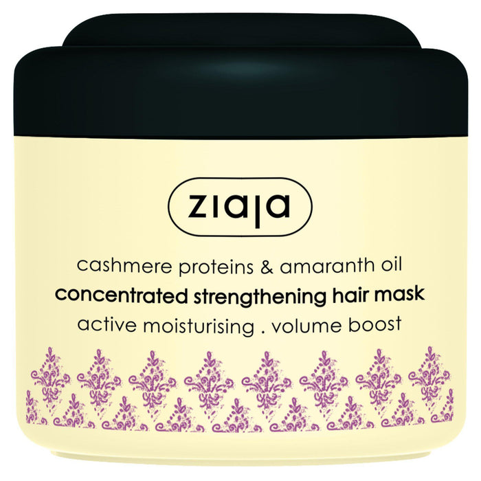 Ziaja Cashmere Proteins and Amaranth Oil Hair Mask 200ml