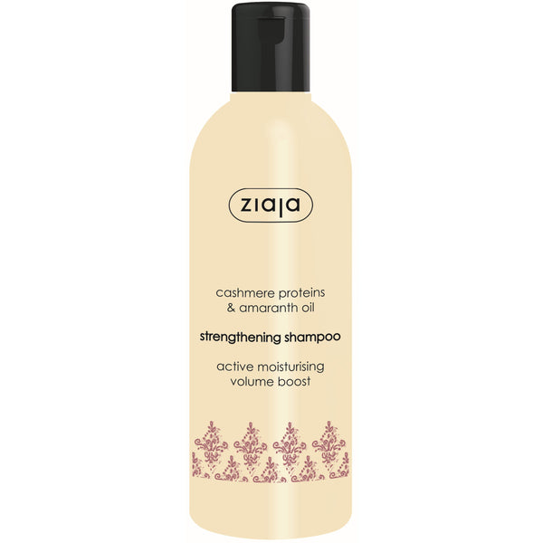 Ziaja Cashmere Proteins and Amaranth Oil Strengthening Shampoo 300ml
