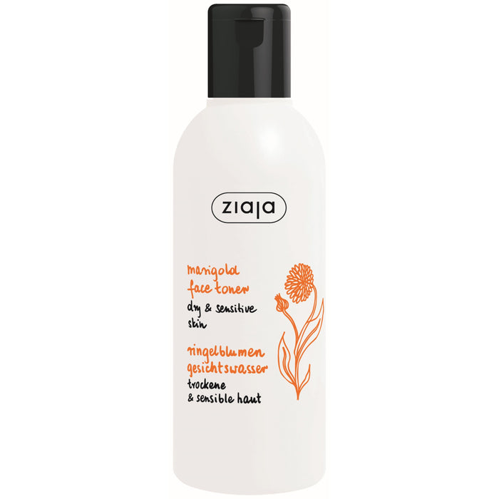 Ziaja Marigold Facial Toner for Sensitive and Dry Skin 200ml