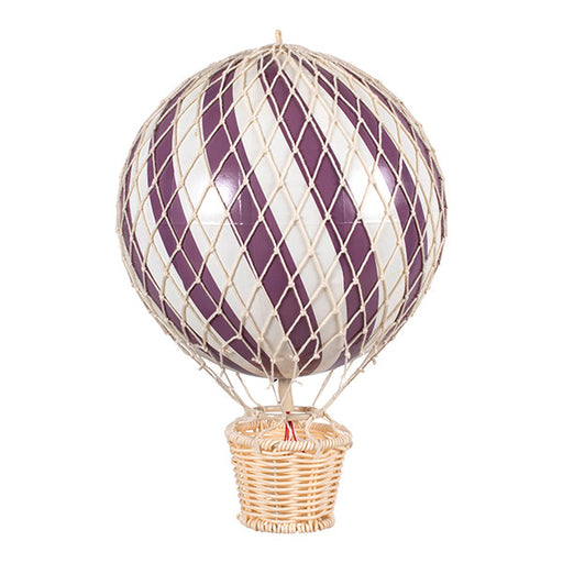 Filibabba Hot Air balloon 20 cm - Plum