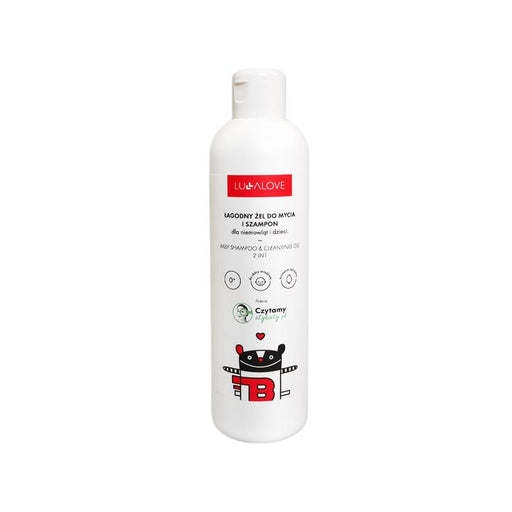 Baby Shampoo and Cleansing Gel 250 ml-Face Cream-lullalove-Eko Kids
