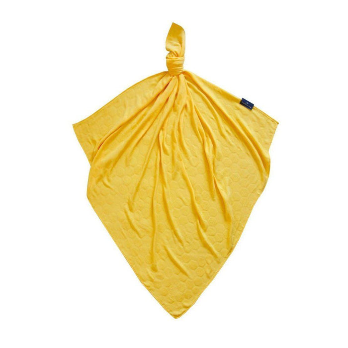 Bamboo Honeycomb Cloth-Cloth-Bamboo-Line-30x30cm-Solar Yellow-Honeycomb-Eko Kids