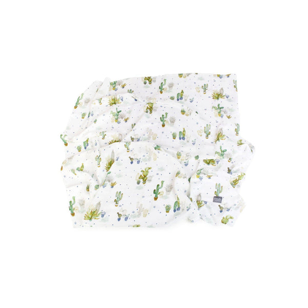 Bamboo Muslin Swaddle - Tropical - Poofi - Eko Kids