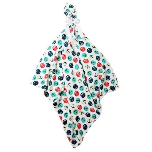 Bamboo Printed Cloth-Cloth-Bamboo-Line-30x30cm-Anchors-Eko Kids