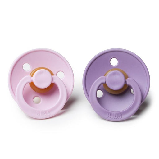 BIBS Cherry Shaped Pacifiers (2-pack) - 6+ months - Lavender & Baby Pink-Pacifier-BIBS-Eko Kids