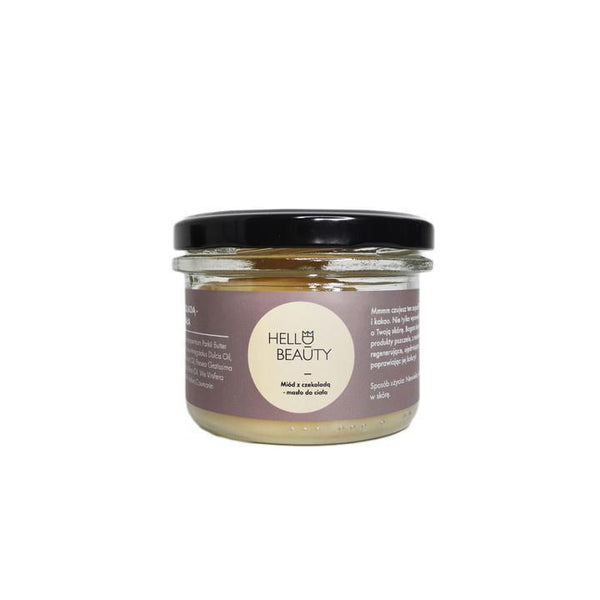 Lullalove Body Butter with Chocolate and Honey