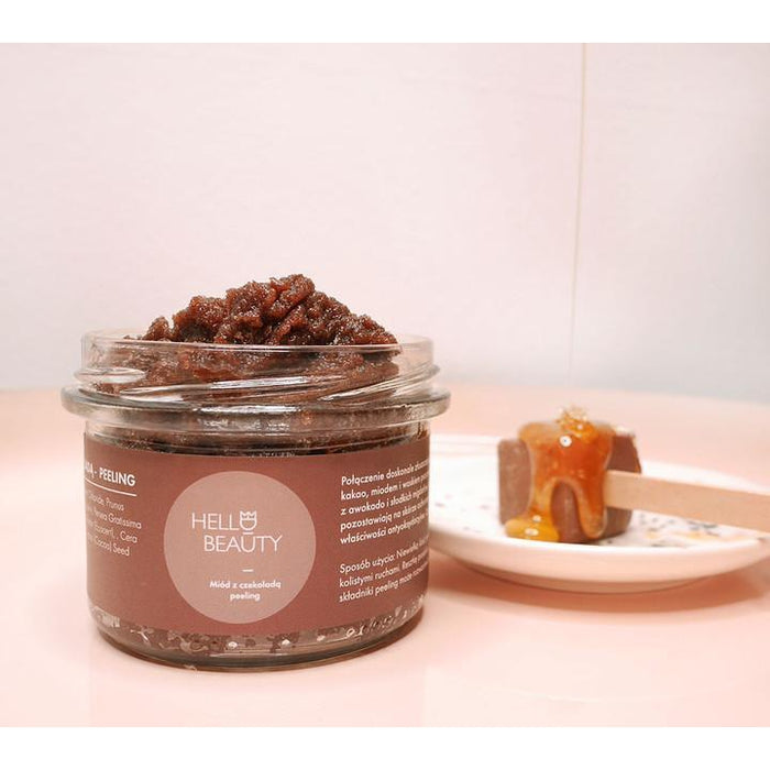 Lullalove Body Salt Scrub Chocolate and Honey